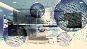 Bild für Websdesign monitore schwach im Hintergrurnd zu erkennen